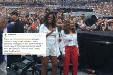 Michelle Obama Chilling at the Beyoncé and Jay-Z Concert Has Got All of Us Screaming