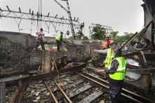 Alert Motorman Applies Train Brakes in Time, Averts Major Tragedy in Mumbai Bridge Collapse