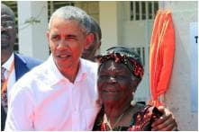 With No Trump in Sight, Barack Obama Breaks a Leg With Grandmother in Kenya