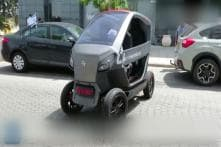 Watch: World's First Foldable Car
