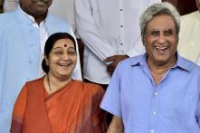'Convey My Regards to Your Wife': Sushma Swaraj's Husband in Emotional Appeal to Troll