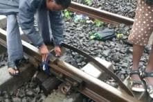 Video of Cloth Used to Tie Damaged Mumbai Track Goes Viral