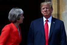 Trump Says He Apologised to Theresa May for British Tabloid Interview