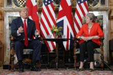 Donald Trump Told Me to 'Sue the EU' Over Brexit: Theresa May