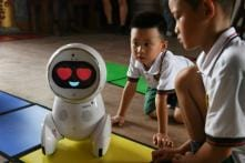 Adorable Two-feet Tall Robot Teachers Are Invading Kindergartens in China