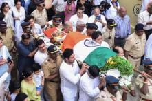 Legendary Indian Captain Ajit Wadekar's Funeral Procession