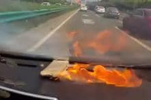 Apple iPhone 6 Bursts Into Flames in a Moving Car; Fake Battery Being Blamed