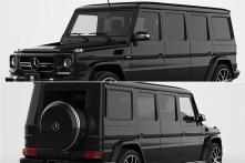 Bulletproof Mercedes-Benz G63 AMG Armoured Limousine Worth Rs 8 Crore - See Pics