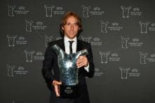 Luka Modric Named UEFA Player of the Year