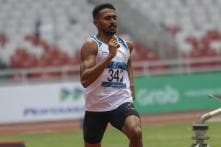 Asian Games: Anas, Arokia Rajiv Through to Semis, Chethan Qualifies for High Jump Final