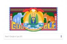 Google Celebrates 72nd Independence Day with Doodle Inspired by Truck Art