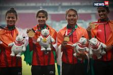 Watch: Indian Women's Relay Team Clinches Fifth Successive Gold at Asiad
