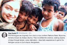 Palestinian-American Supermodel Gigi Hadid Wins The Internet With Her Visit to Rohingya Refugee Camps in Bangladesh
