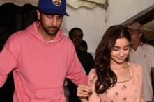 Alia Bhatt, Ranbir Kapoor Look Joyful in the New Pic from Brahmastra Sets