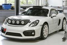 Porsche Cayman GT4 Clubsport Rally Car Concept Revealed