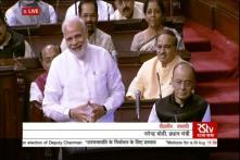 It's 'Hari Bharose' Now, Says PM Modi as NDA's Harivansh Bags Rajya Sabha No.2 Post