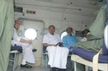 Rajnath Singh Speaks to Kerala CM; Takes Stock of Flood Situation