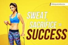 This Video of Shilpa Shetty Doing Forward Rolls Explains Why She Is A Fitness Inspiration to Many; Watch