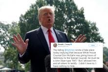 Trump Says 'Nothing to Hide' from Special Counsel Mueller