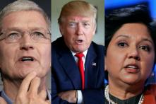 Tim Cook, Indra Nooyi and 57 Other US CEOs Call Out Trump For 'Disruptive' H1-B Visa Policy