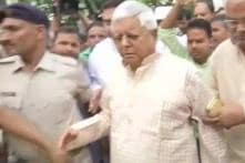 Lalu Yadav Surrenders Before CBI Court After Expiry of Bail