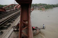 Yamuna River Crosses Danger Mark in Delhi, Flows At 205.24 Metres Level