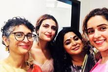 Dangal Actors Fatima, Sanya Join Aamir And Kiran For Eid Celebration; See Photos