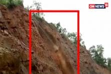 Rains Cause landslide & Havoc