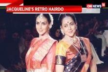 Jacqueline's Retro Hairdo