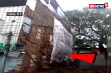 Three-Storey Building Collapses In Indore