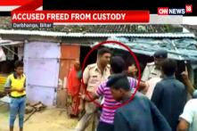 Watch: Locals Help Accused Criminal to Escape in Bihar