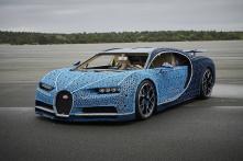 LEGO Technic Unveils 1st Ever Life-Size and Drivable Bugatti Chiron Replica – Watch Video