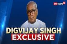 Digvijaya Singh Exclusive Interview on CNN News18