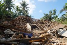 Powerful Earthquake Hits Indonesia's Lombok Tourist Island
