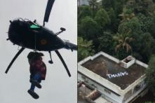 The Pilot Who Rescued a Pregnant Woman From Kerala Rooftop Just Received a Very Special Note