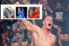What are Daler Mehndi, Kapil Sharma and Tendulkar Doing on John Cena's Insta Account?