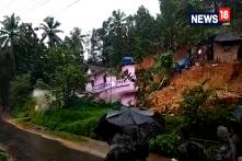 2 Houses Collapse In The Mudslide In Kannur's Irrity