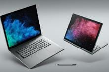 Microsoft Surface Book 2, Surface Laptop Launched in India: Price, Specifications And More