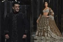 Salman Khan and Katrina Kaif Rule the Runway at Manish Malhotra Show; See Pics and Video