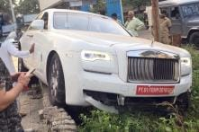 Brand New Rolls-Royce Ghost Worth Rs 7 Crore Crashed in Mumbai During First Drive