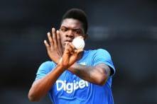 Sherman Lewis Replaces Alzarri Joseph for India Tests