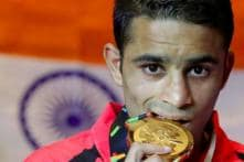 Gold Medalist Amit's Ancestral Village Erupts in Joy