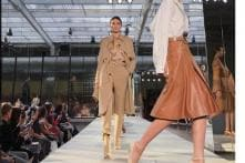 Kendall Jenner Debuts on Burberry LFW Ramp, Designer Riccardo Tisci Takes the Reins
