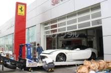 Typhoon Jebi: 51 Ferrari Supercars Destroyed at Dealership, Damage Estimated at Rs 63 Crore