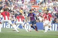 Ernesto Valverde Rests Lionel Messi Against Bilbao But Barcelona Drop More Points