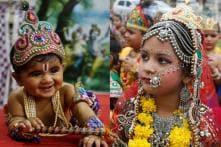 Happy Janmashtami 2019: Cute Kids Dressed as Radha, Krishna & Meera