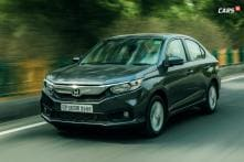 Honda Amaze VX CVT Variant Launched in India, Prices Start at Rs 8.56 Lakh