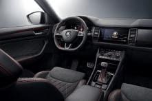 Skoda Kodiaq RS Interior Revealed Ahead of Paris Motor Show 2018
