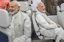 PM Narendra Modi Takes Metro Ride in Delhi; See Pictures