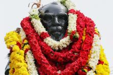 Shoes Thrown at Periyar Statues in Chennai, Tirupur; One Arrested